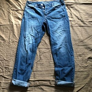 American Eagle Tomgirl Jeans size 12 extra long